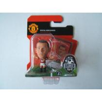 Mini Craque Soccerstarz Rooney Raro Manchester United Raro