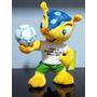 Boneco Fuleco Mascote Copa Brasil 2014 Futebol Tatu Bola G