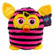 Pelúcia Furby Boom -27 Cm - Rosa E Preto.
