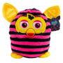 Boneco De Pelúcia Furby Boom Não Interativo Rosa E Preto
