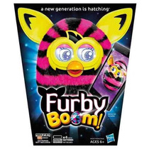 Furby Boom Figure (straight Stripes)original Importado U S A