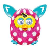 Furby Boom (rosa E Bolinhas Branca) Original Importado U.s.a