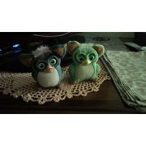 Furby - Cinza E Verde - Originais - Preço Do Par