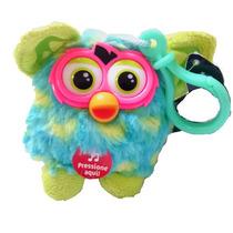 Furby Boom Falante Azul/verde - Chaveiro - Presente