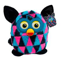 Furby Boom Preto/azul/rosa - Pelúcia - Bbr Toys