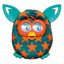 Furby Boom Orange Stars - Hasbro - Fala Português