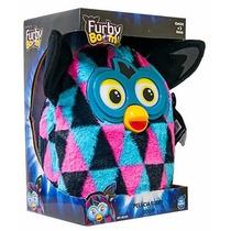 Pelúcia Furby Boom Azul/rosa - Original - 22 Cm