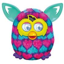 Furby Boom - Coração Rosa, Azul E Roxo - Hasbro - Português