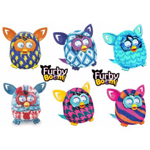 Boneco Hasbro Furby Boom Figure Fala Inglês Original +brinde
