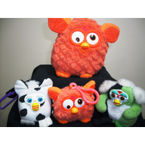 Kit 4 Pelúcias Furby 2 Hasbro Não São Interativo Ler Anúncio