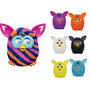 Furby Boom Listrado + Kit C/ 6 Mini Figuras Furby - Hasbro.