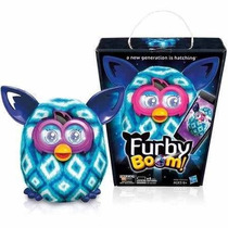 Furby Boom Blue Diamonds 100% Original Fala Em Português Br