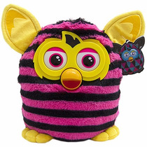 Furby Boom Rosa / Preto / Amarelo - Pelúcia - Bbr Toys