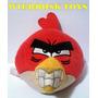 Coleção De Pelucia Angry Birds Red Vermelho Mc Donalds Líder