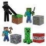 Kit Minecraft Steve? Zombie Creeper Enderman Serie1 Jazwares