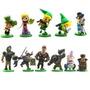 11 Bonecos Zelda - Action Figure The Legend Of Zelda Link