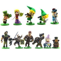 11 Bonecos Zelda - Action Figure The Legend Of Zelda Link