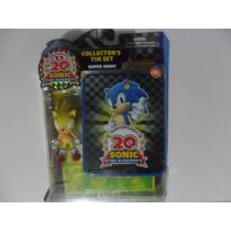 Boneco Articulado Sonic The Hedgehog 20th Anniversary Sega