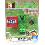 Tk0 Toy Minecraft Overworld S1 Creeper / Jazwares
