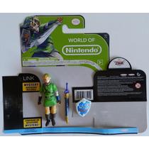 Boneco Link World Of Nintendo Jakks Pacific Series 1-1 Zelda