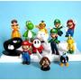 Kit Super Mario Luigi Yoshi Nuven E Amigos 12 Peças