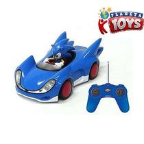 Carro Controle Remoto Sonic Sega All Star Racing C/boneco