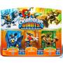 Skylanders Giants 3 Pack - Sonic Boom, Sprocket, Stump Smash