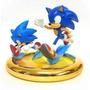 Sonic Generations - Estátua Comemorativa - Jazwares - Nova