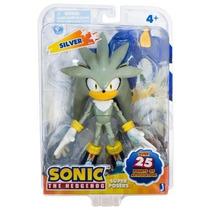 Boneco Sonic Silver Grande 18 Cm!! Pronta Entrega Lançamento