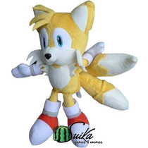 Pelúcia Tails Sonic Sega Original ~ Suika Games & Animes