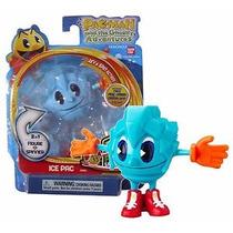 Boneco Pac Man - Panic Spinners Bandai - Ice Pac