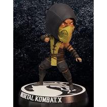 Boneco Scorpion Mortal Kombat X - Bobble Head - Mezco