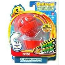 Boneco Pac Man - Panic Spinners Bandai - Pac´s Pal Clyde