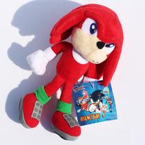 Pelucia Sonic The Hedgehog Knuckles 23cm