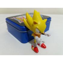 Boneco Articulado Super Sonic The Hedgehog 20th Anniversary