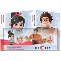 Boneco Disney Infinity Detona Ralph + Vanellope + Discos