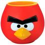 Caneca Angry Birds Pássaro Red Copo Porta Treco Lápis Geek