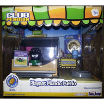Club Penguin Playset - Mundo Puffle Long Jump