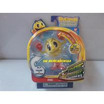 Boneco Pac Man - Pac Panic Spinners - Bandai.