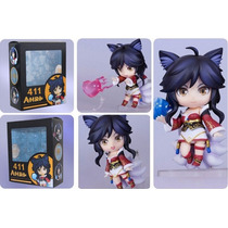 League Of Legends Ahri Estilo Nendoroid Pronta Entrega Lol