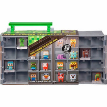 Minecraft Maleta De Colecionador Para Figuras Dfn48 Mattel