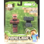 Tk0 Toy Minecraft Overworld S2 Blacksmith Aldeão / Jazwares