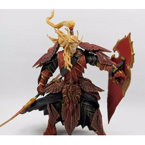 Action Figure - Elf Paladin World Of Warcraft Wow Frete 0.0