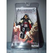 Boneco Ezio Master Assassin Neca Assassins Creed 2 Cinza