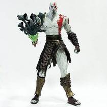 Boneco Kratos Com Cabeça Medusa God Of War Original Lacrado