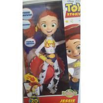 Boneco Toy Story 3 C/ Som Do Filme - Jessie - 30 Cm - Mattel