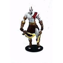 Estatueta Em Resina Kratos God Of War