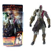 Kratos Com Cabeça Medusa Pvc Action Figure (pronta Entrega)