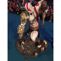 Estatua Resina God Of War Kratos Semi Deus Ps4 Ps3