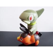Bonecos Pokemon Mc Donalds - Axew E Tepig Juntos!!!